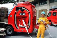 【Movie】消防車+救急車=消救車!