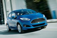2014年2月に発売されたコンパクトカー「フィエスタ」。「フォーカス」ともども、古くからの欧州フォードのファンに支持されているようだ。
