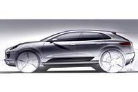 ポルシェの新型SUV「Macan」。