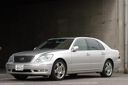 トヨタ・セルシオeR仕様(6AT)【ブリーフテスト】 トヨタ・セルシオeR ...