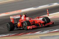 4戦連続ノーポイントという史上最悪の記録を免れたフェラーリ。ルカ・ディ・モンテゼモロの前で6位でフィニッシュしたキミ・ライコネンは、レース後、初得点に喜びつつも前途多難であることを認めた。(写真=Ferrari)
