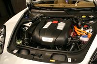 ハイブリッドシステムの総出力は416ps。従来型は380psだった。