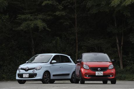 「ルノー・トゥインゴ」と「スマート・フォーフォー」、国籍もメーカーも違うコンパクトカーだが、この新型...