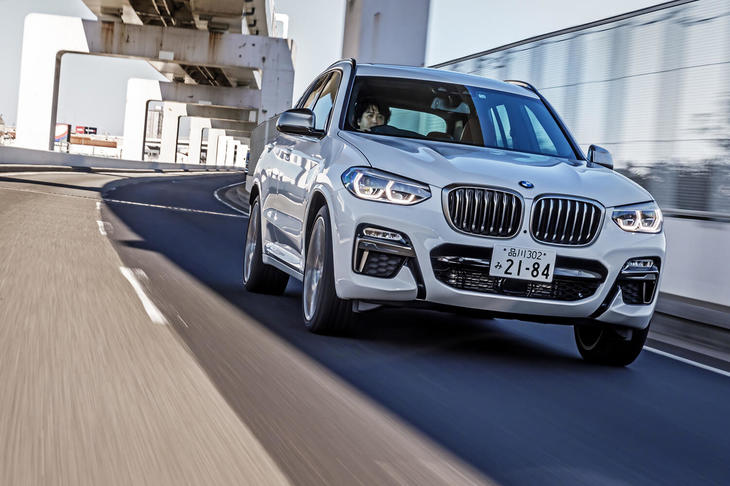 BMW X3 M40d(4WD/8AT)【試乗記】