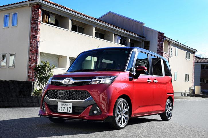 トヨタ・タンク カスタムG-T(FF/CVT)【試乗記】