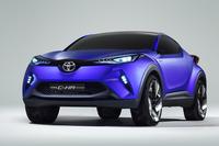 「トヨタC-HRコンセプト」