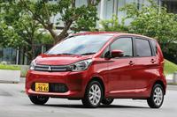 日産との協業で誕生した「三菱eKワゴン」。「日産デイズ」の兄弟車に当たる。