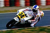 フィーチャリングマシンの二輪車部門は「ペプシ・スズキRGV-γ」(1989年)。ケビン・シュワンツのライディングによって、88年と89年の2年連続で日本GPを制した。今回のイベントでもシュワンツ自身がデモ走行する予定。