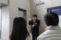 参加者の疑問に答えるレクサスマイスターの伊藤好章氏。