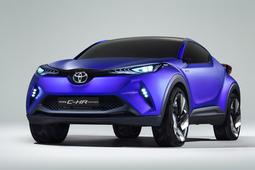 トヨタから小型クロスオーバー車のコンセプト【パリサロン2014】