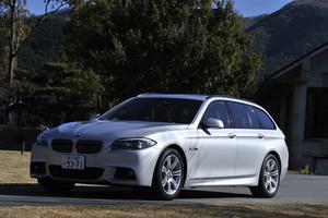 BMW 523dブルーパフォーマンス ツーリング Mスポーツ(FR/8AT)【試乗記】