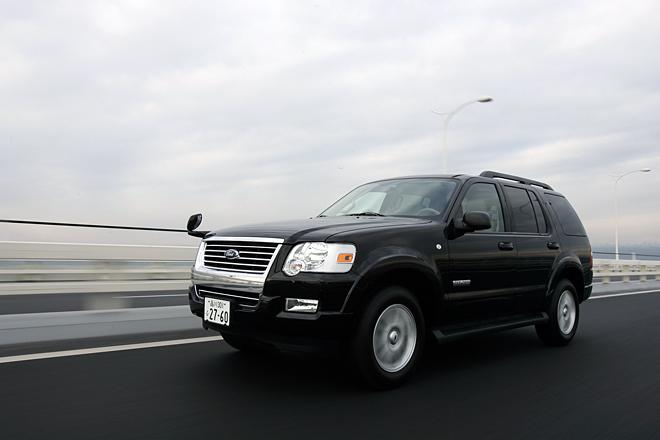 フォード・エクスプローラーXLT(4WD/5AT)【試乗記】