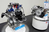 現在開発中の2気筒ディーゼルエンジン。新興国向けのコンパクトカーへの搭載を想定したもので、日本への導入予定はない。