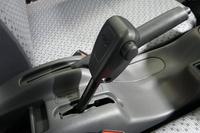 パートタイム4WDの切り替えレバー。