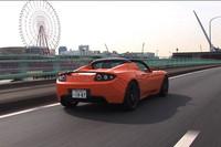 テスラ・ロードスター2.0 Sport(MR/1AT)【動画試乗記】の画像