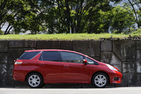 2011年6月16日に発売された「フィットシャトル」。売れっ子コンパクト「フィット」の荷室を拡大した、ホンダの新型ワゴンである。