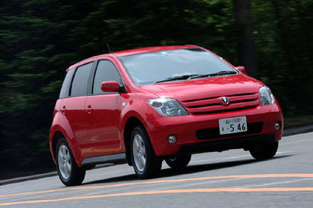 トヨタ・イスト1.5S Lエディション(4AT)【ブリーフテスト】