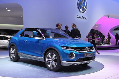 フォルクスワーゲンブースに展示されたコンセプトカーや最新モデルを写真で紹介する。