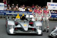【ルマン2006】ルマン最多勝ドライバーに聞く、アウディの新型ディーゼル・マシン「R10」の画像