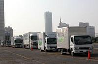 【東京モーターショー2004】見るのみならず乗ってみる(前編)――大型トラック同乗試乗の画像