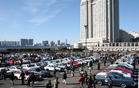 お台場に550台もの旧車が集まった〜「ニューイヤーミーティング」開催