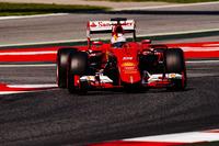 メルセデスの強さと速さに完敗したフェラーリ。ベッテルはスタートで得た2位のポジションを失い3位。優勝したロズベルグには最終的に45秒もの差をつけられた。(Photo=Ferrari)