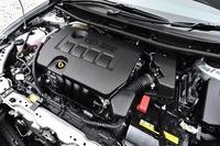 自然吸気の2リッター直4エンジン。このほかに、1.5リッターと1.8リッターのエンジンが用意される。