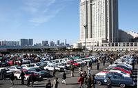 お台場に550台もの旧車が集まった〜「ニューイヤーミーティング」開催の画像