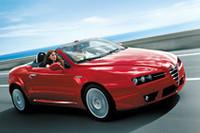 「アルファ・スパイダー」にオリジナルiPodなどがついた特別限定車の画像