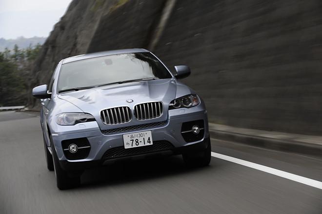 BMWアクティブハイブリッドX6(4WD/CVT)【試乗記】