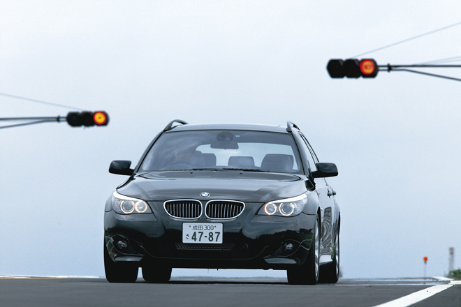BMW550iツーリング(FR/6AT)【試乗記】