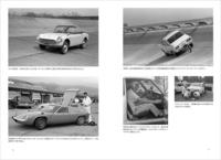 当時の取材シーンを収めた写真ページも。富士スピードウェイや日本自動車研究所(谷田部/当時)の懐かしい風景が。          <収録車種>メルセデス・ベンツ300SL/BMW 2002tii/アウディ80クワトロ/ポルシェ356B/フォルクスワーゲン・ゴルフ・ディーゼル/ジャガーEタイプ/モーリス・ミニ・クーパー998/ロータス・ヨーロッパ/アルファ・ロメオ・ジュニアZ/フェラーリ・ディーノ246GT/ランボルギーニ・ウラコ250S/ルノー5/シトロエンDS19/トヨタ・ソアラ2800GT/ニッサン・ブルーバード1300/ホンダS600/いすゞ・ベレット1600GT/スバル360/マツダ・ファミリア・ロータリー・クーペほか。