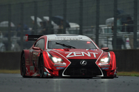 3位フィニッシュしたNo.38 ZENT CERUMO RC F。予選、決勝ともにレクサス勢の強さが目立ったレースだった。