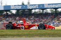 風邪をひき体調思わしくないシューマッハーだったが、ポールポジションから圧勝し、通算81回目の勝利を(いとも簡単に)手に入れた。(写真=フェラーリ)