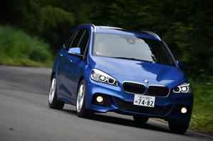 BMW 218dグランツアラー Mスポーツ(FF/8AT)【試乗記】
