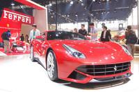 北京ショーでアジア初公開された「F12ベルリネッタ」