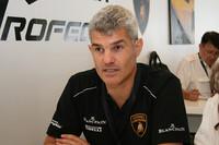 ランボルギーニ・ジャパンのエジナルド・ベルトリ代表。(webCG)