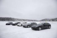 今回、試乗会が行われた女神湖では、冬季期間中に氷上ドライブの申し込みを受け付けており、自車持ち込みで走行できる(要予約)。なお、2012年度の受け付けは2月下旬ですでに終了。