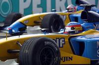 ルノーF1、2004年もトゥルーリ/アロンソでの画像