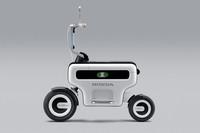 電動二輪車のコンセプトモデル「モーターコンポ」。