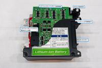 リチウムイオンバッテリーについては、現在「エネチャージ」で使用しているものをそのまま使う予定。
