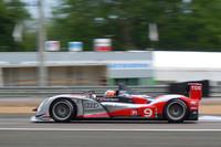 こちらは、アウディ陣営で予選最高位(5位)となった9号車。
