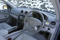 メルセデス・ベンツML500(4WD/7AT)【試乗記】の画像