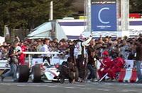 【Movie】バトンと往年のホンダF1が夢の共演!〜モータースポーツ・ジャパン2006デモラン(ホンダF1編)の画像