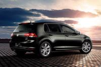 VWゴルフに上質なツートン内装の限定モデルの画像