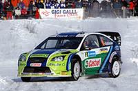 【WRC 2006】第2戦スウェーデン、グロンホルム&フォードが白銀のステージを攻略!の画像