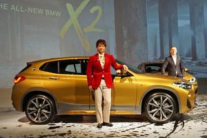 BMWの新型SUV「X2」が日本デビュー