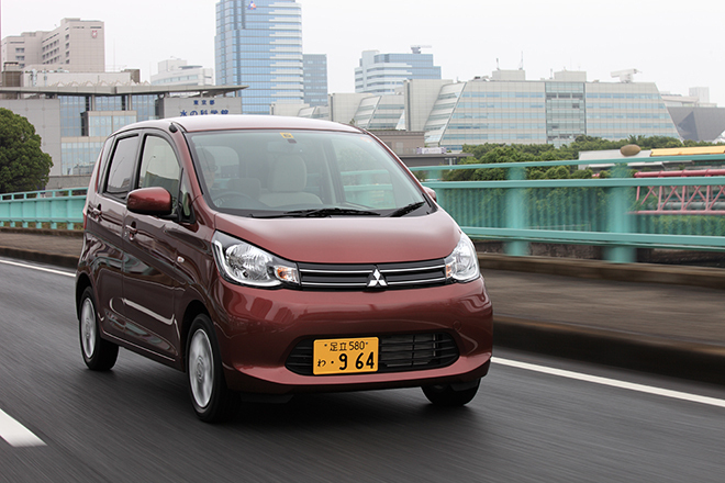 三菱eKワゴンG(FF/CVT)/eKカスタムT(FF/CVT)【試乗記】