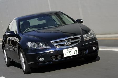 ホンダ・レジェンド(4WD/5AT)【試乗記】