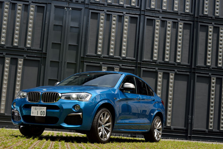 BMW X4 M40i(4WD/8AT)【試乗記】